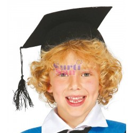Sombrero estudiante infantil