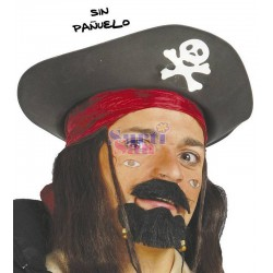 Sombrero pirata adulto