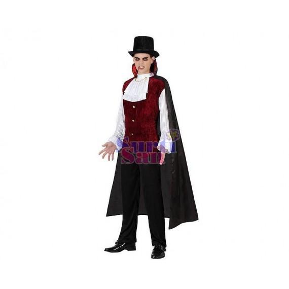 Disfraz charlestón azul infantil