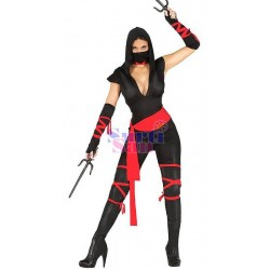 Disfraz mujer ninja adulto