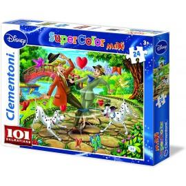 Peluca y barba blanca de druida