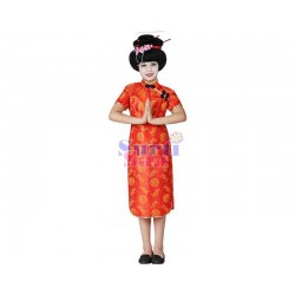 Disfraz china infantil.
