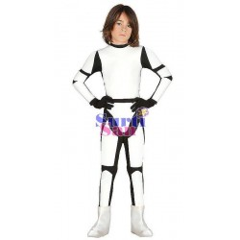 Disfraz soldado espacial infanti