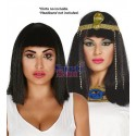 Peluca melena cleopatra