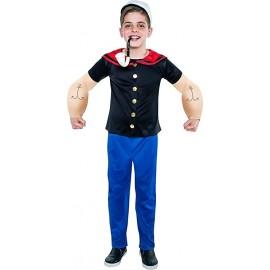 Disfraz romano con túnica