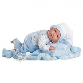 Colgante esqueleto luz y sonido 190cm