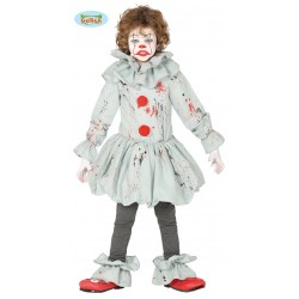 Disfraz payaso terror infantil.