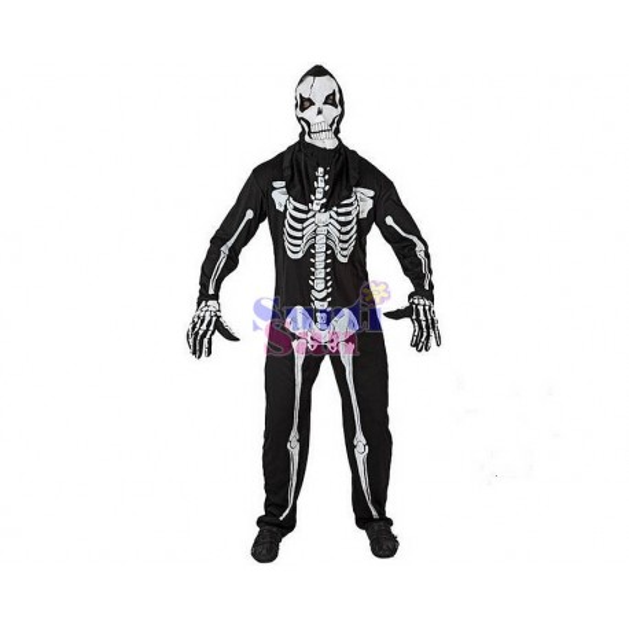 Disfraz esqueleto adulto.