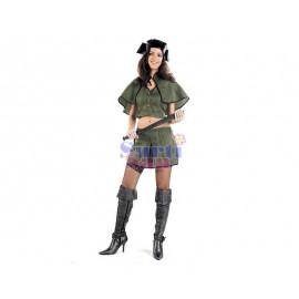 Disfraz guerrera mujer