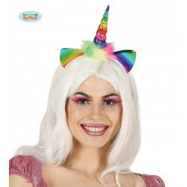 Diadema unicornio multicolor
