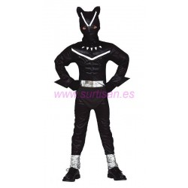Disfraz black feline infantil