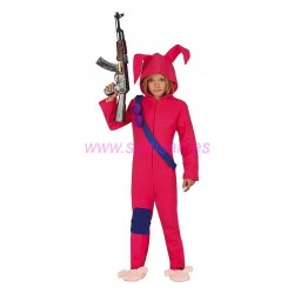 Disfraz conejito soldado infantil