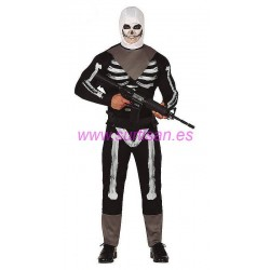 Disfraz skeleton soldier