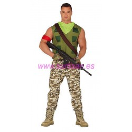 Disfraz mercenario gamer