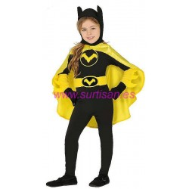 Disfraz black heroine infantil