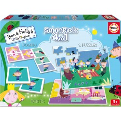 PUZZLE SUPERRPACK 4 EN 1 BEN Y HOLLY´S