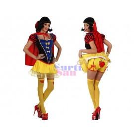 Disfraz  geisha rosa infantil.