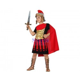 Disfraz romano infantil.